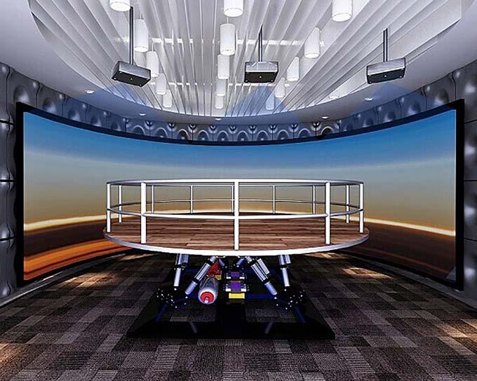 Fuhua 3d earthquake simulator for sale-1
