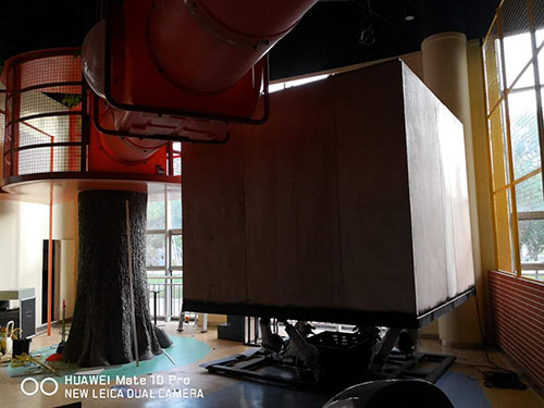 high performance earthquake simulator 3d manufacture for scenic area-5