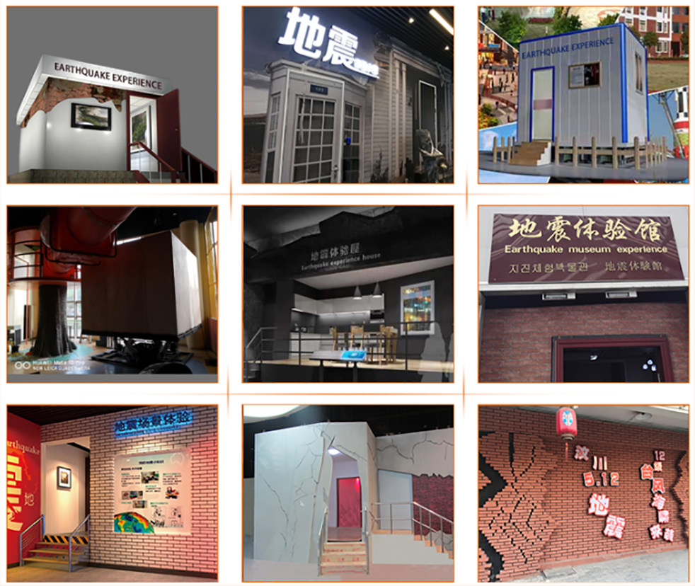 Fuhua Attractive earthquake simulator machine manufacture-6