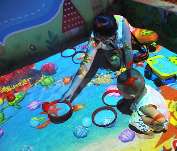 Fuhua interactive 3d projection mapping for kids for museum-10