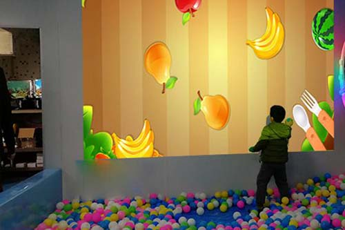 Fuhua interactive 3d projection mapping for kids for museum-16