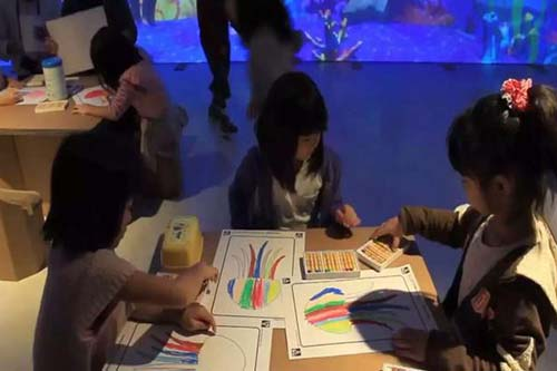 Fuhua interactive 3d projection mapping for kids for museum-23