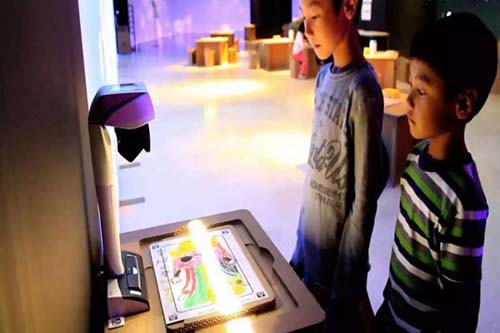 Fuhua interactive 3d projection mapping for kids for museum-24