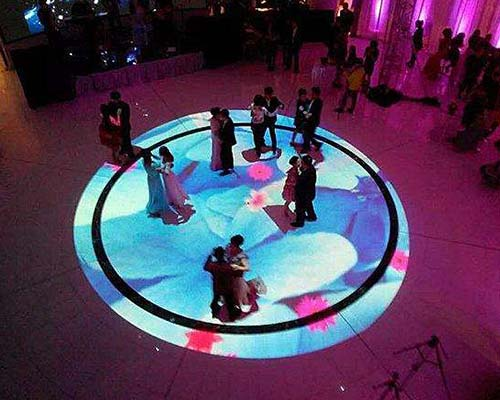 relaxing interactive projection floor Enhance confidence for square-33