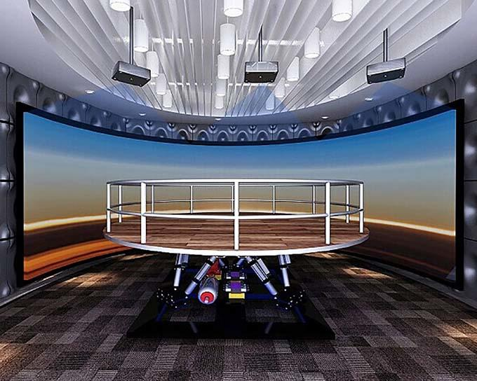 high performance earthquake simulator 3d manufacture for scenic area-1