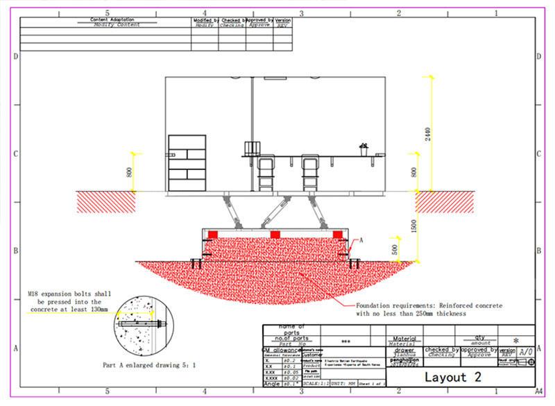 Fuhua earthquake earthquake simulator machine manufacture for museum-2