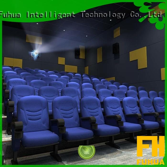 3d cinema equipment cinema for theme park Fuhua