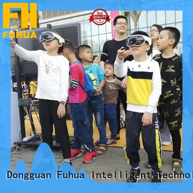 high performance mixed reality games fuhua different experience for theme parks