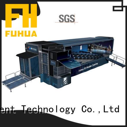 Fuhua Customized mobile cinema dynamic seats for museum