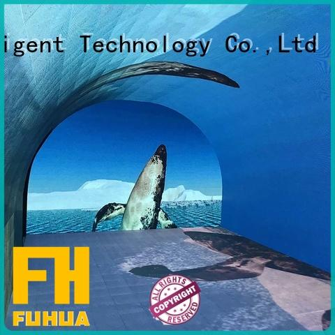 Fuhua interactive led wall screen manufacture for museum