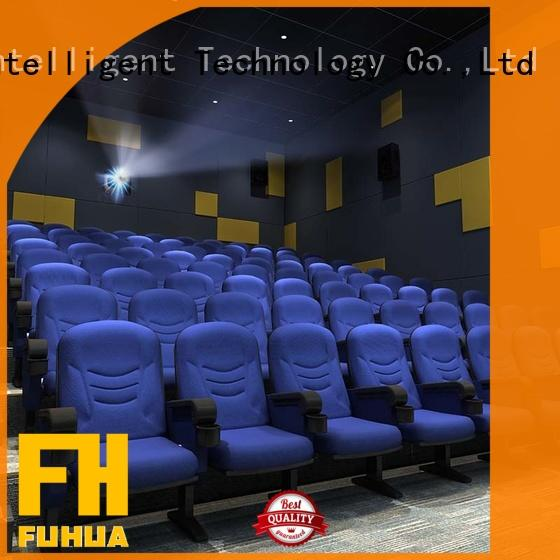 Fuhua amusement 3d theater Chinese for theme park