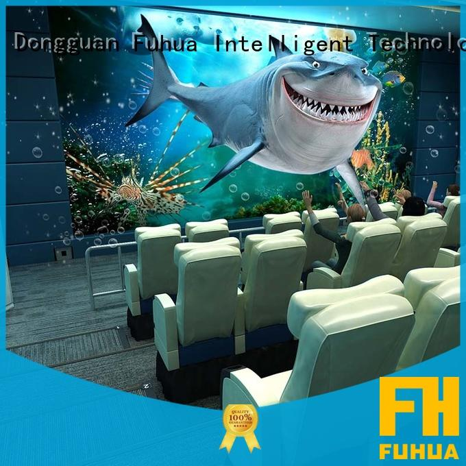 Fuhua xd 4d 5d cinema supply for theme park