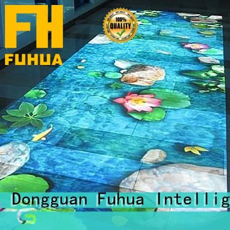 Fuhua interactive floor projection supply for square