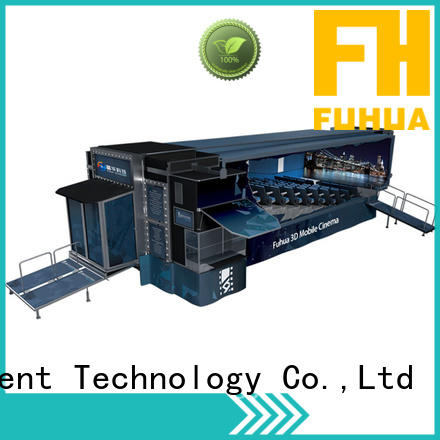 Fuhua Customized mobile theater dynamic seats for aquariums
