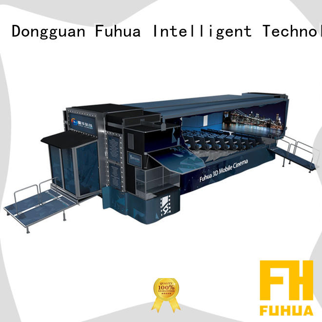 Fuhua cinema truck sound system for shopping malls