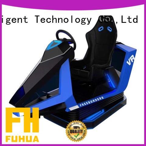 Fuhua arcade virtual reality driving simulator for market