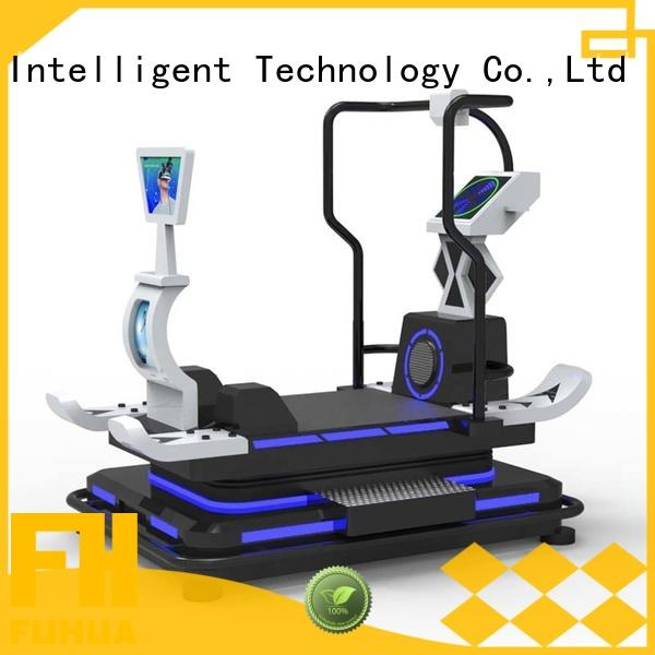 athletic vr treadmill boating realistic experience for fitness game center