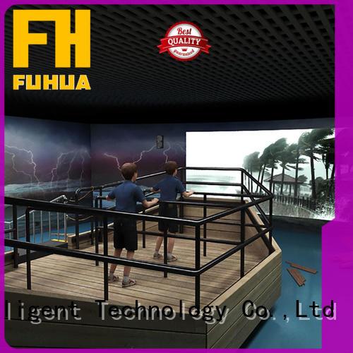 Fuhua motion voyage simulator for education for school