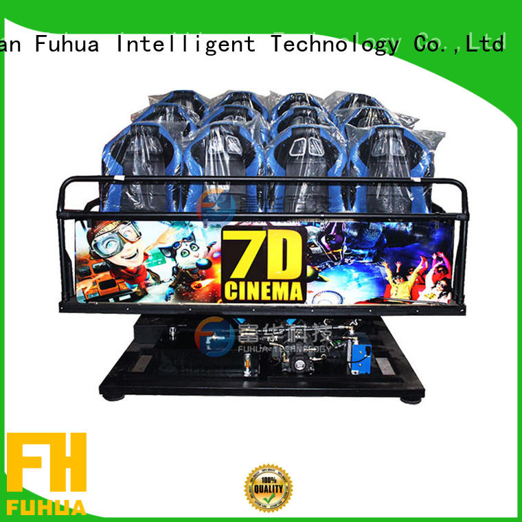 Fuhua Attractive cinema 7d display system for family entertainment center