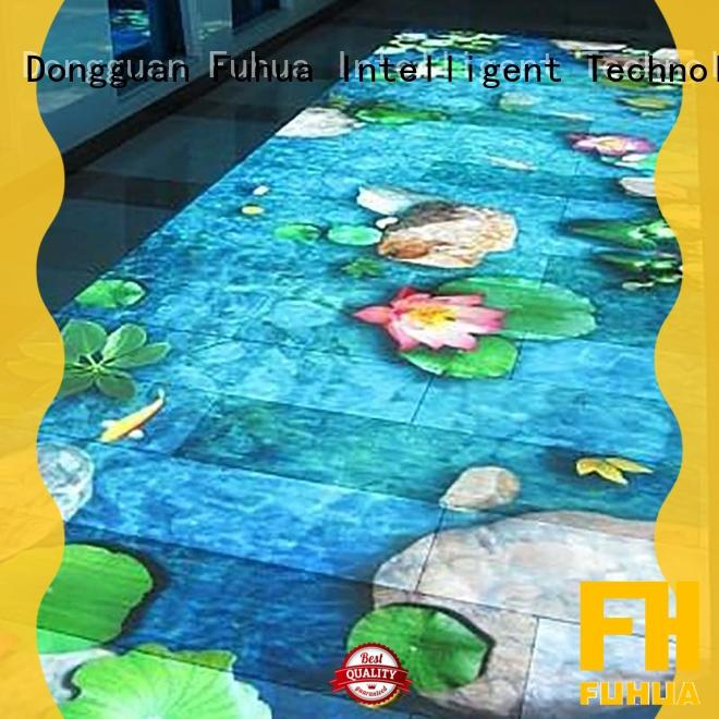 Fuhua Attractive interactive projector games Enhance confidence for school