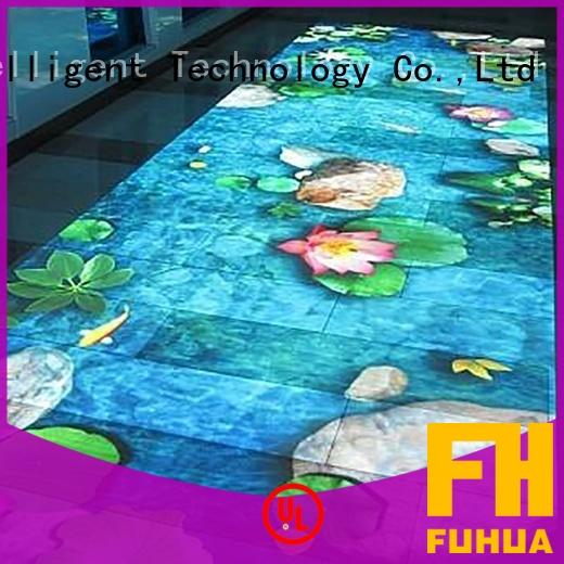 relaxing interactive projection wall supply for wedding Fuhua