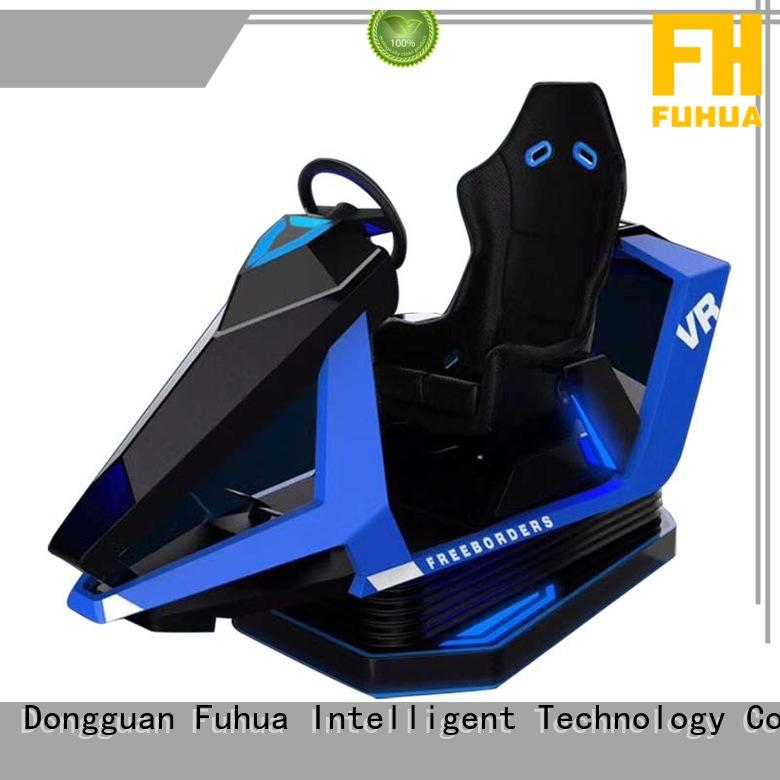 Fuhua flight car racing game simulator for theme park