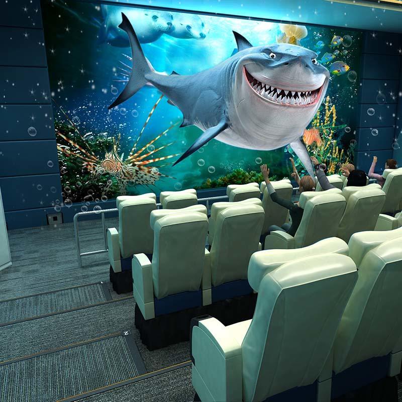 2019 Amusement XD 4D 5D Cinema Fuhua Hot Sale Motion Theater Machine
