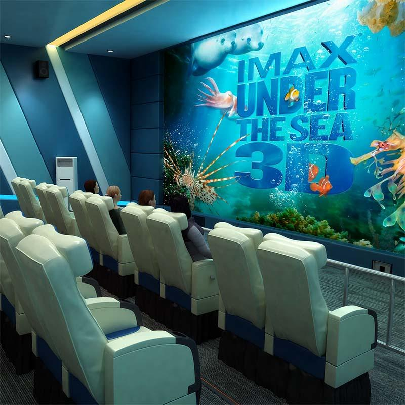2019 Amusement XD 4D 5D Cinema Fuhua Hot Sale Motion Theater Machine