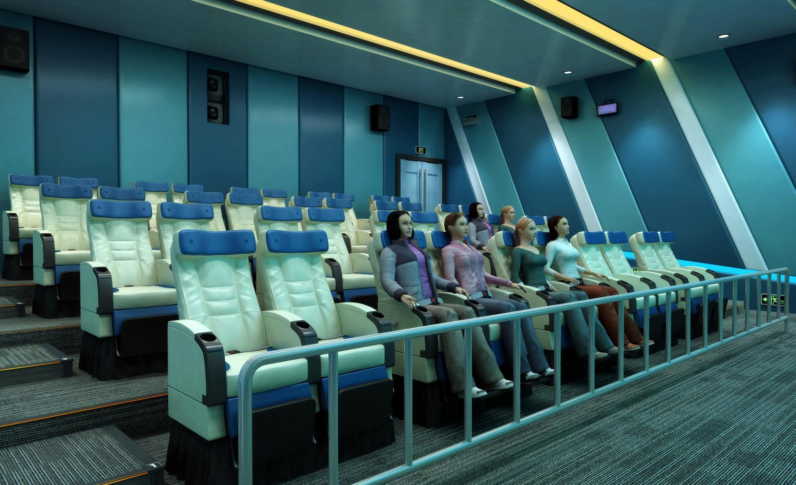 Hot motion 5d theatre sale Fuhua Brand