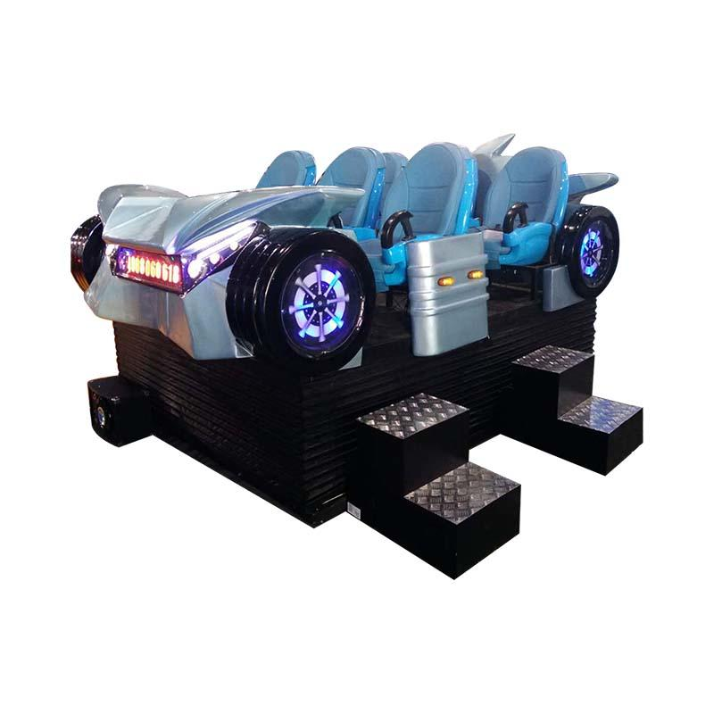 Fiberglass Virtual Reality 9dvr Six Seats With 6 DOF Motion Platform