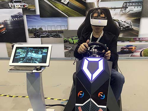 Fuhua fashionable vr racing simulator engines for cinema-5