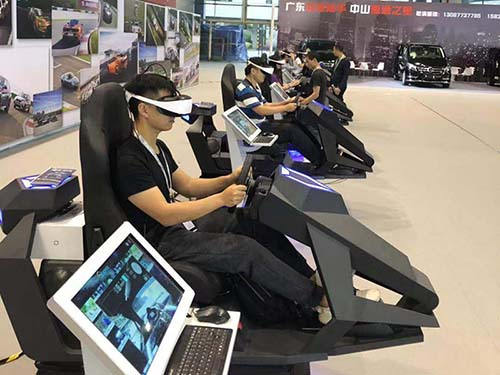 Fuhua fashionable vr racing simulator engines for cinema-6