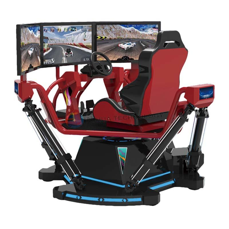 racing car simulator & 9d vr simulator