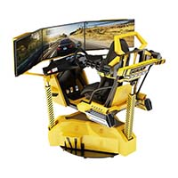 Fuhua amusement racing car simulator engines-4