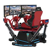 Fuhua screen vr racing car dynamic control technology for theme park-5