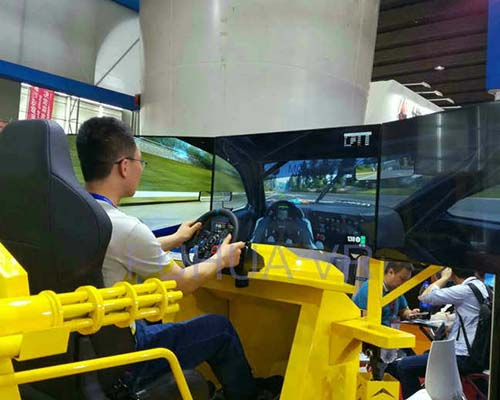 Fuhua screen vr racing car dynamic control technology for theme park-7