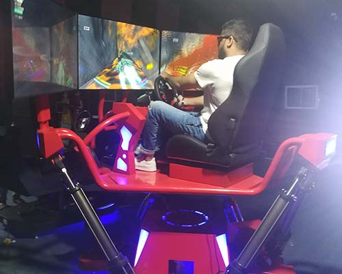 Fuhua screen vr racing car dynamic control technology for theme park-9