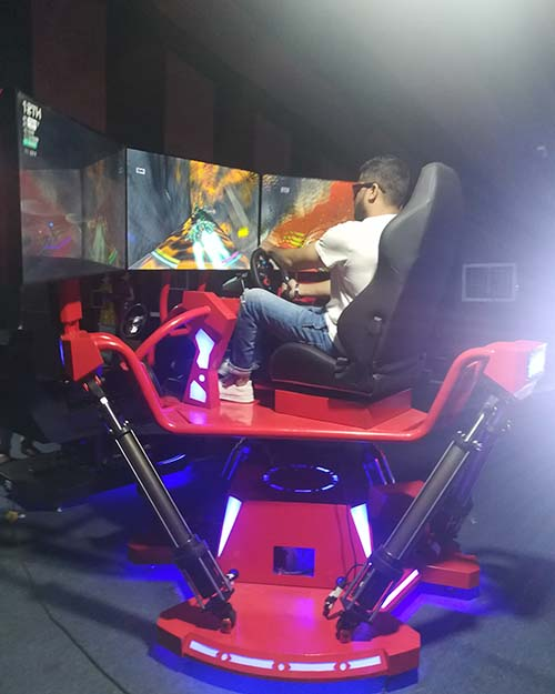 Fuhua screen vr racing car dynamic control technology for theme park-10
