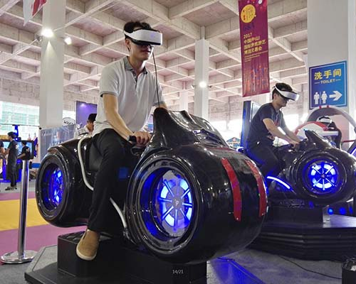 Fuhua international racing vr dynamic control technology for amusement-3