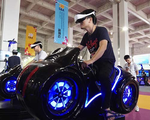 Fuhua cool racing vr for sale for park-4