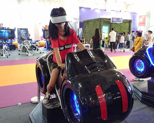 Fuhua fashionable racing vr dynamic control technology for theme park-5