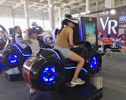 Fuhua fashionable racing vr dynamic control technology for theme park-6