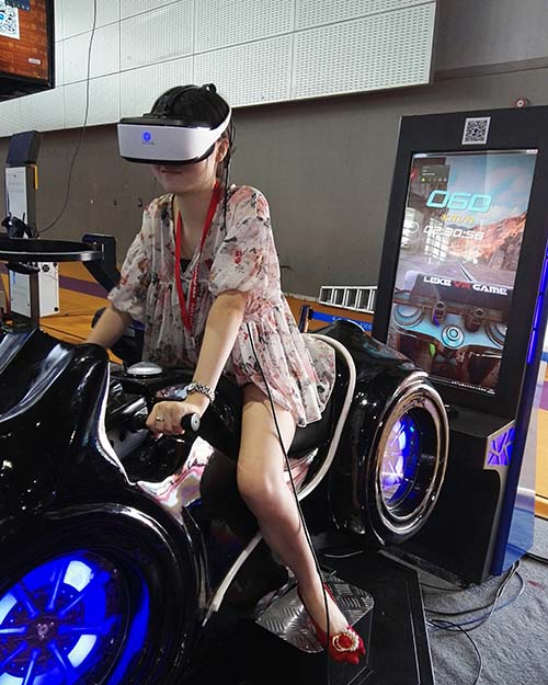 Fuhua fashionable racing vr dynamic control technology for theme park-7