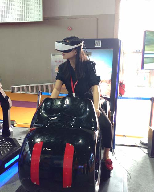 Fuhua fashionable racing vr dynamic control technology for theme park-8