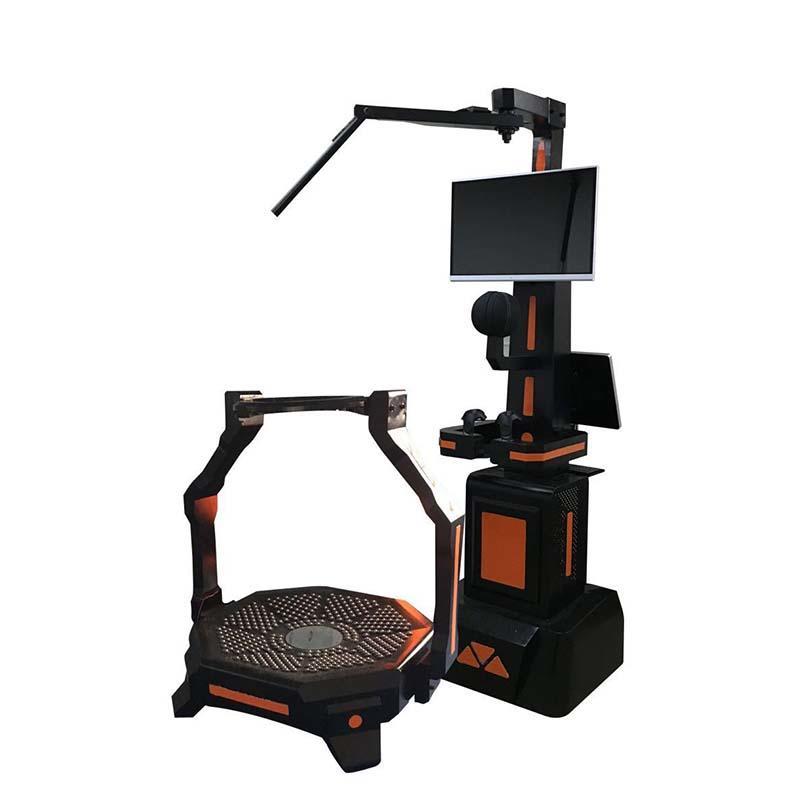 9d Virtual Reality Game Machine VR Treadmill PP Gun Shooting Platform