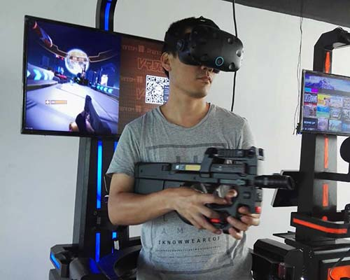 Fuhua arcade vr shooting dynamic control technology for market-4