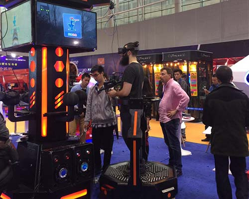 Fuhua arcade vr shooting dynamic control technology for market-5