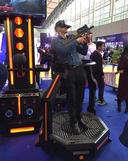 Fuhua arcade vr shooting dynamic control technology for market-8