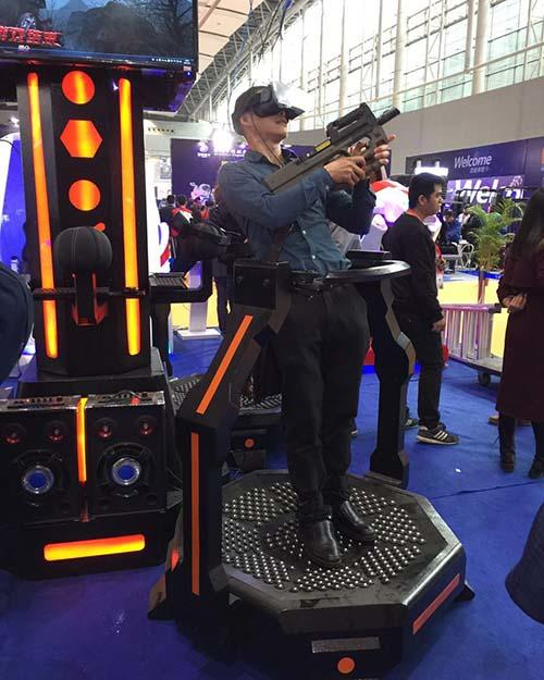 Fuhua arcade vr shooting dynamic control technology for market
