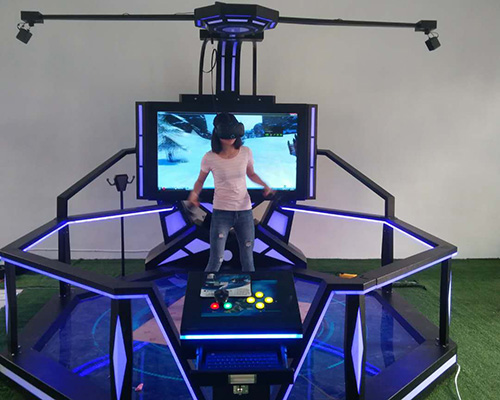 Fuhua flight laser shooting simulator for sale for amusement park-6